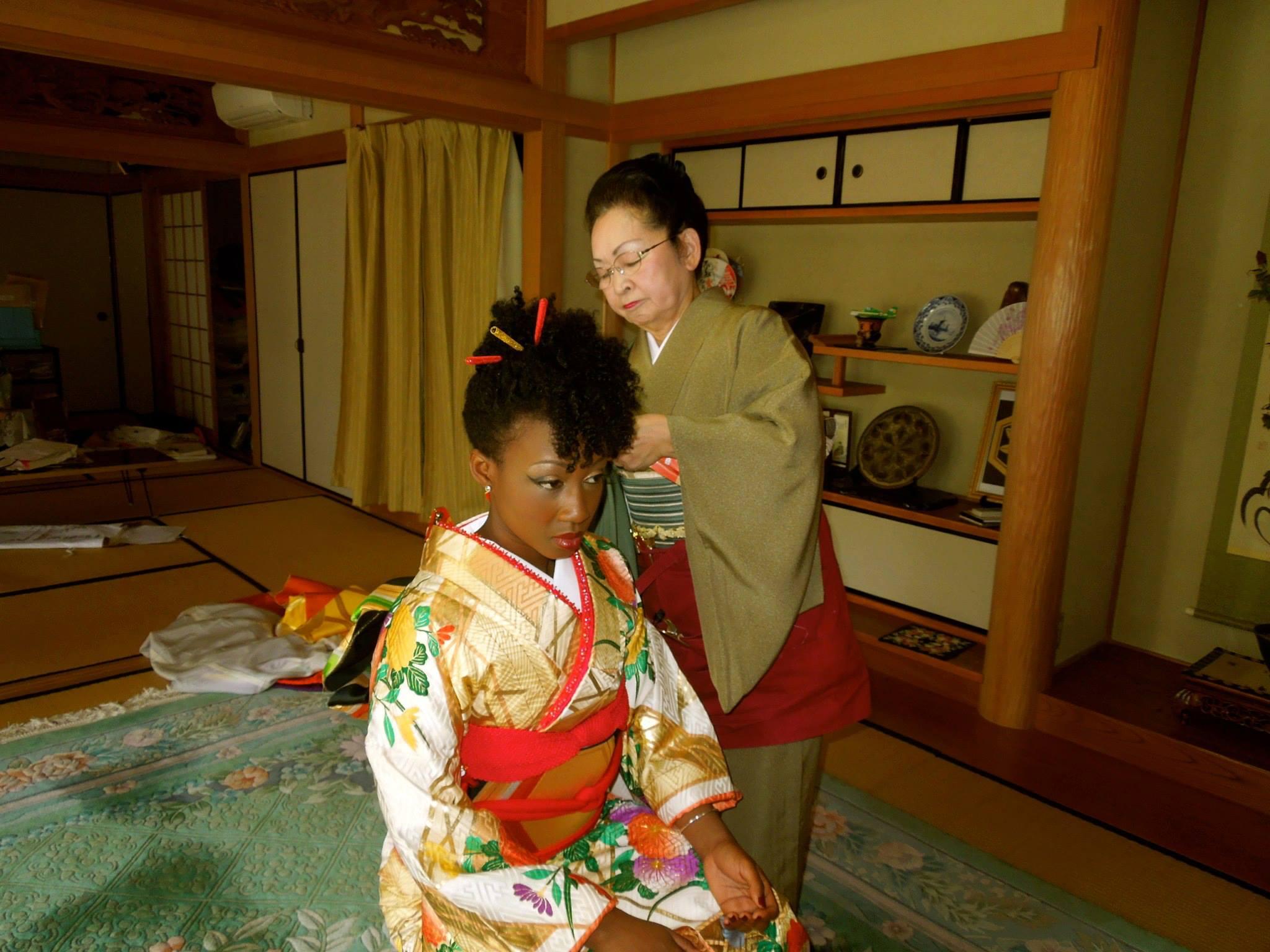 blackwoman japaneese
