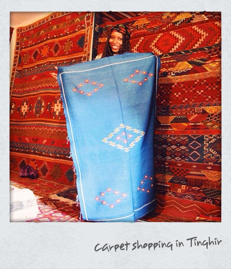Khadijat Oseni-Jetsetter Problems-Carpet Shopping
