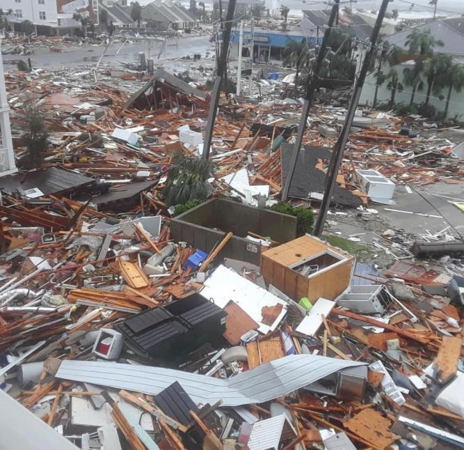 Hurricane Michael disaster